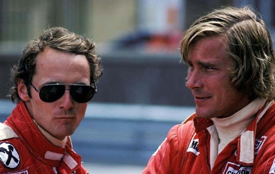 Niki Lauda e James Hunt 2