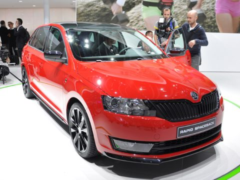 Skoda Rapid Spaceback - Francoforte 2013