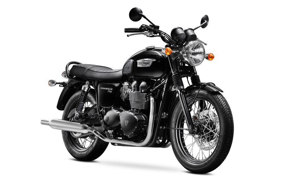 Triumph Bonneville my 2014 Black