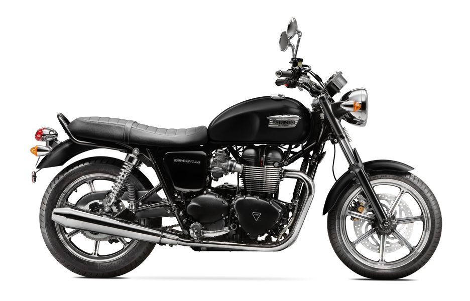 Triumph Bonneville my 2014 Phantom Black