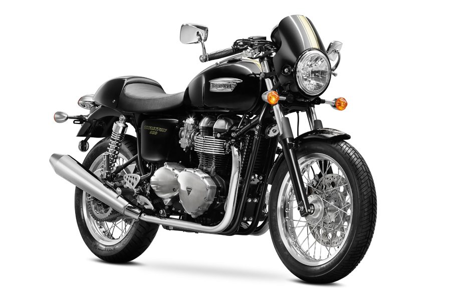 Triumph Thruxton my 2014 Phantom Black