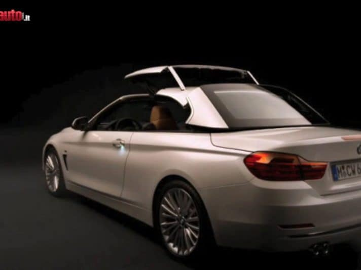 BMW Serie 4 Cabriolet: il video ufficiale