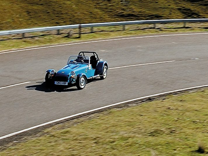 Caterham Seven 165: la entry level in Europa