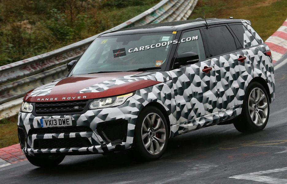Range Rover RS 2015 - Design