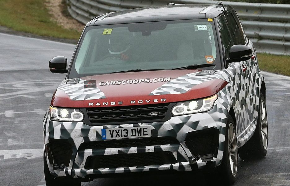 Range Rover RS 2015 - Frontale