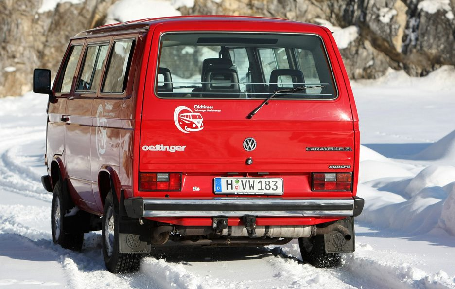 Volkswagen Type 2 T3 restyling tre quarti posteriore