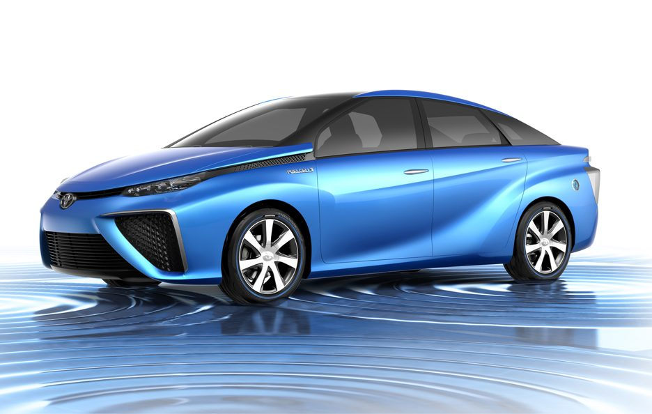 Toyota Fuel Cell Vehicle Concept - Tokyo 2013