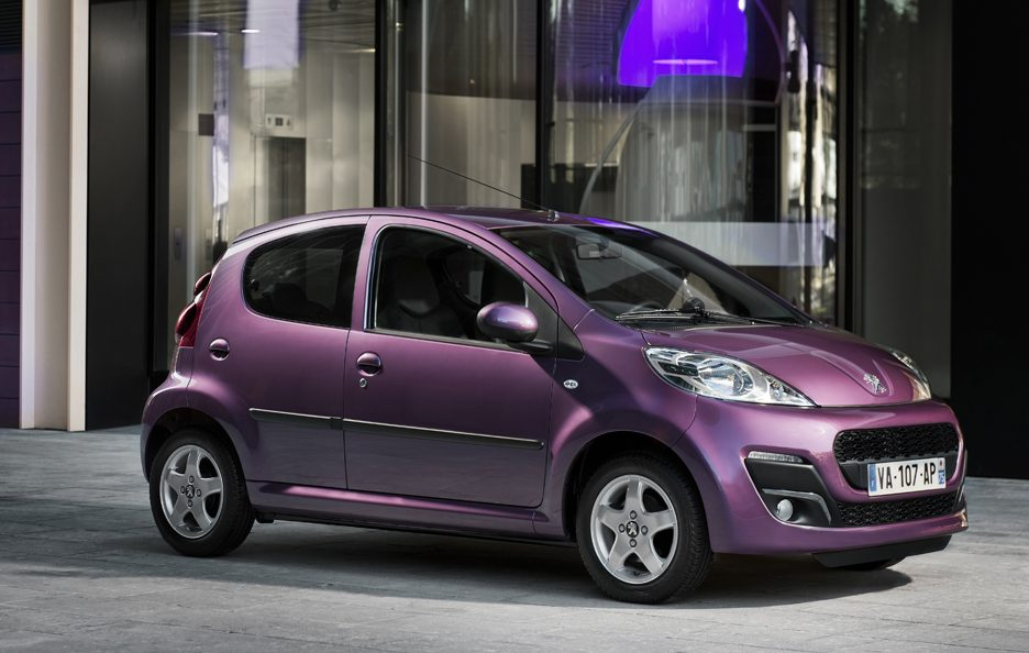 2012 - Peugeot 107 secondo restyling