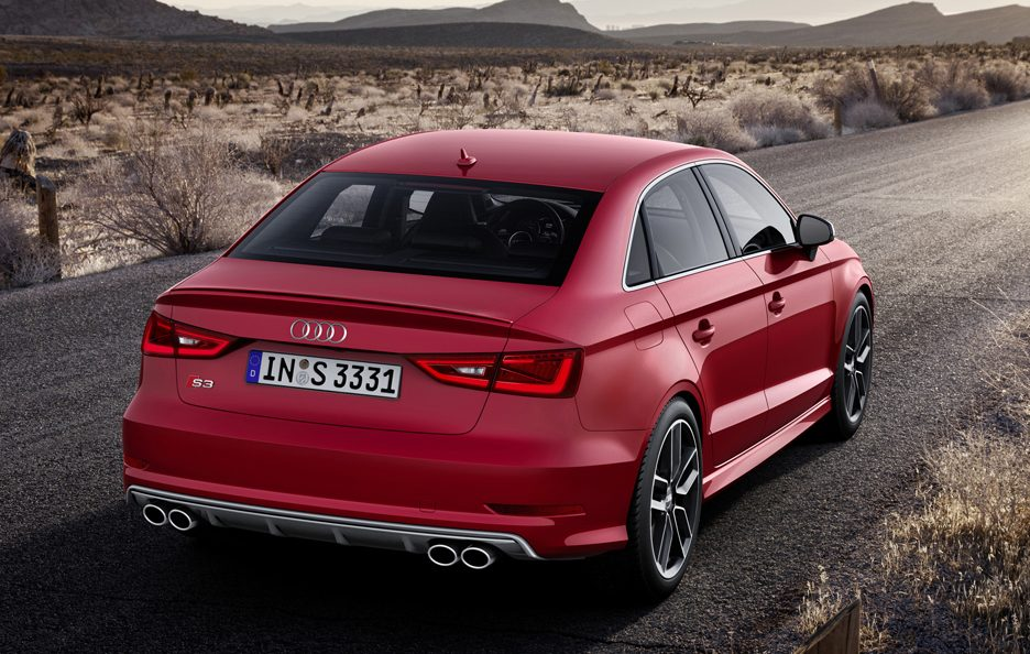 Audi S3 Berlina - Posteriore in motion