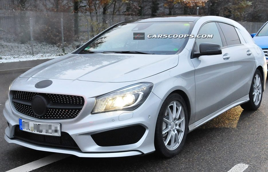 Mercedes CLA Shooting Brake 2015 - Frontale
