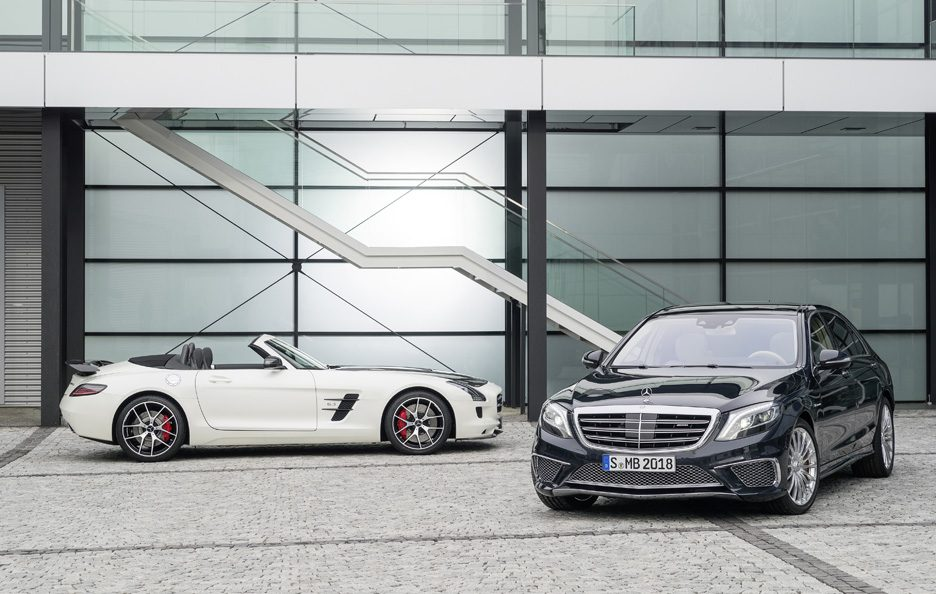 Mercedes S 65 AMG e SLS AMG GT Final Edition