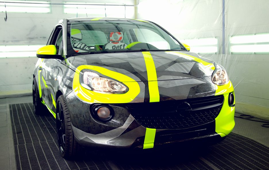 Opel Adam&Vale for Charity - EICMA 2013