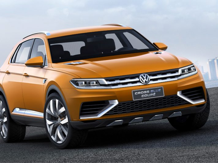 Volkswagen CrossBlue Coupe - Los Angeles 2013