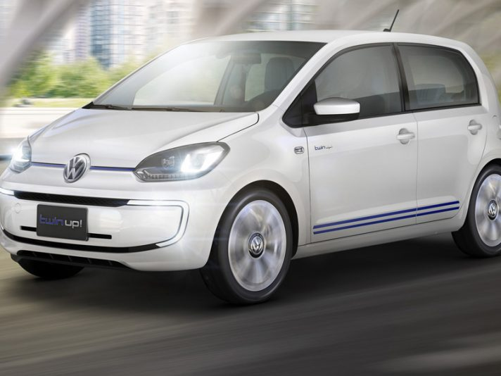 Volkswagen twin up!, la nuova city car ibrida