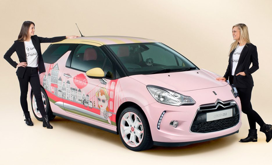 Citroen DS3 Concept Car Benefit Cosmetics