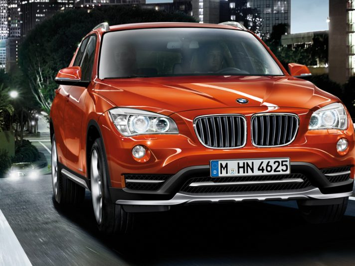 BMW X1 2014: restyling a Detroit 2014