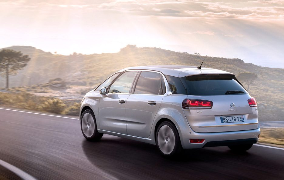 CItroen C4 Picasso 2013 - Posteriore in motion