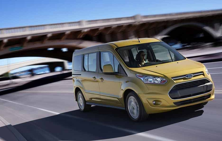 Ford Tourneo Connect Tre quarti anteriore