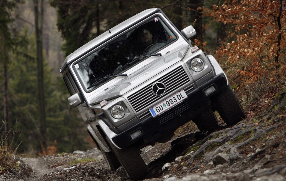 Mercedes classe G frontale