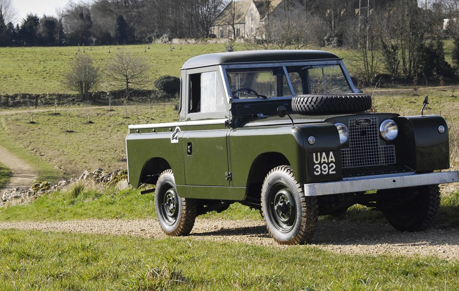 1958 - Land Rover Series II 88