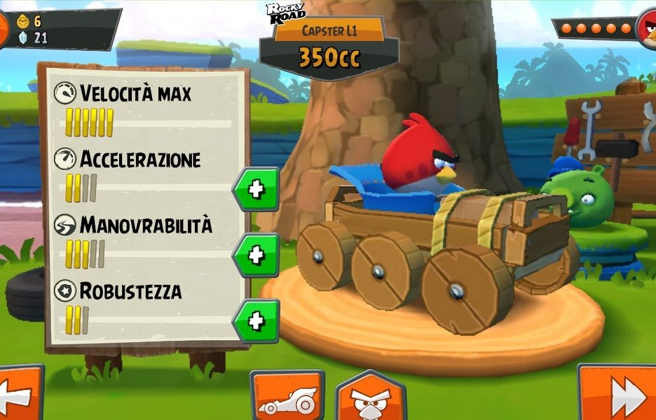 Angry Bird Go - Recensione 3