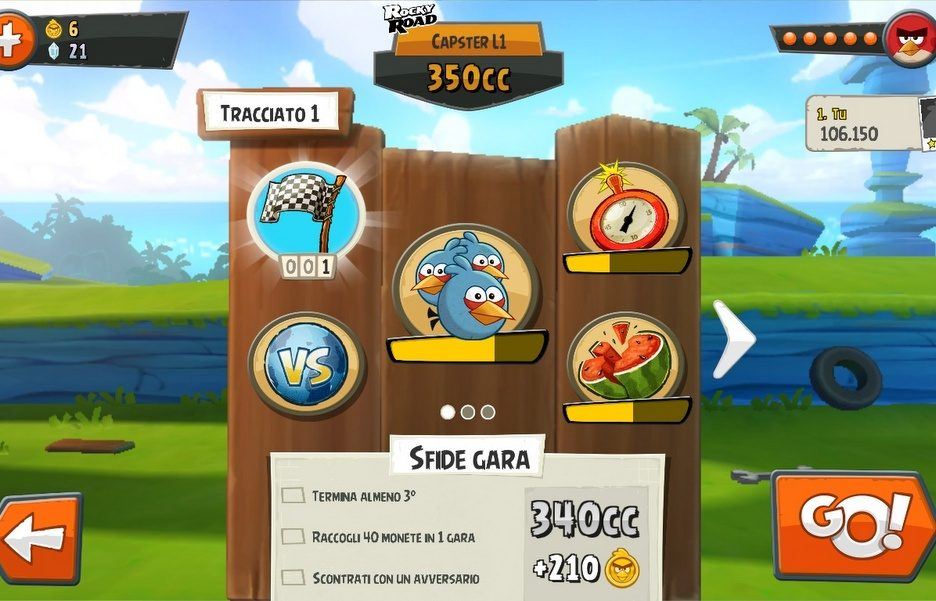 Angry Bird Go - Recensione 5