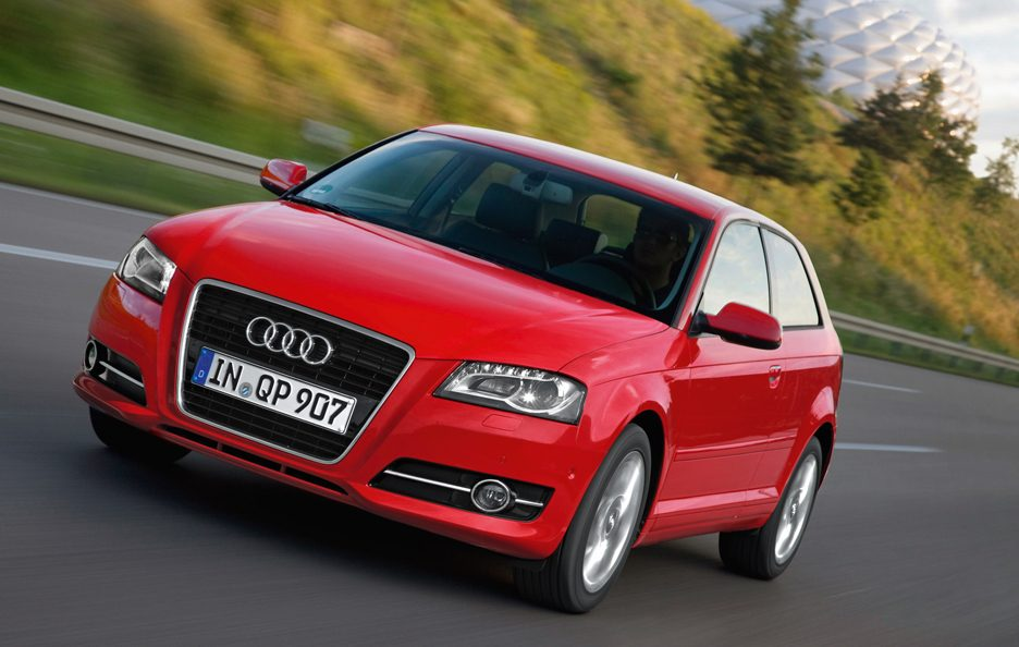Audi A3 - Frontale in motion