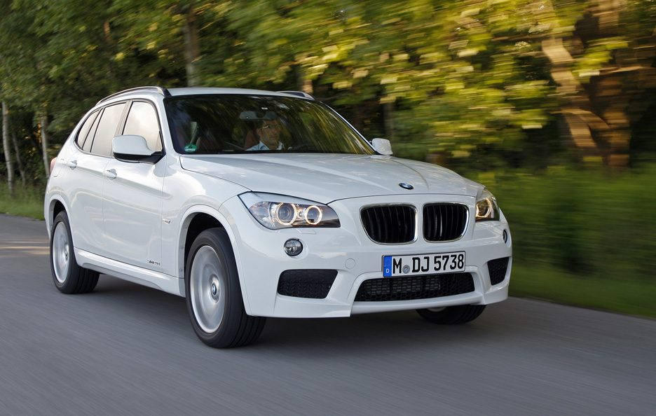 BMW X1 - Anteriore in motion