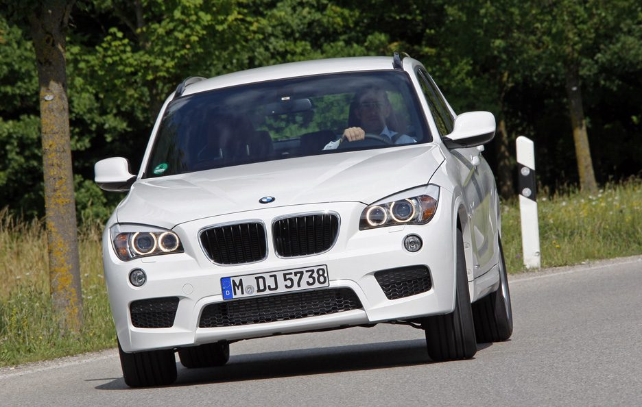 BMW X1 - Frontale in motion