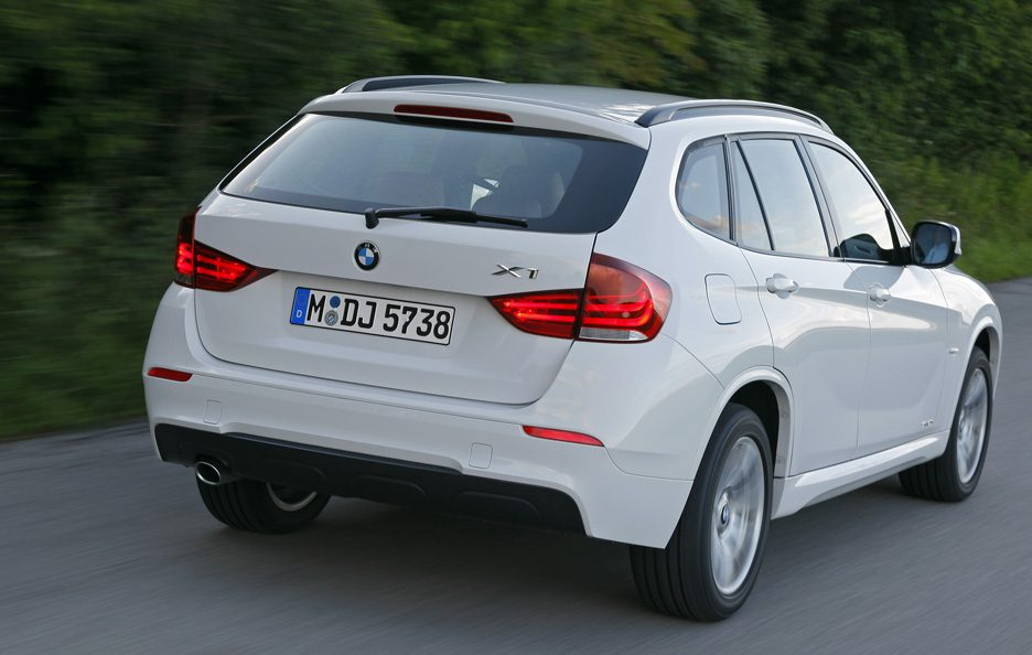BMW X1 - Il retrotreno