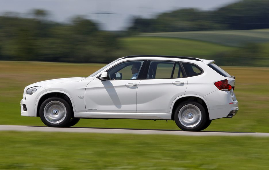 BMW X1 - Laterale in motion
