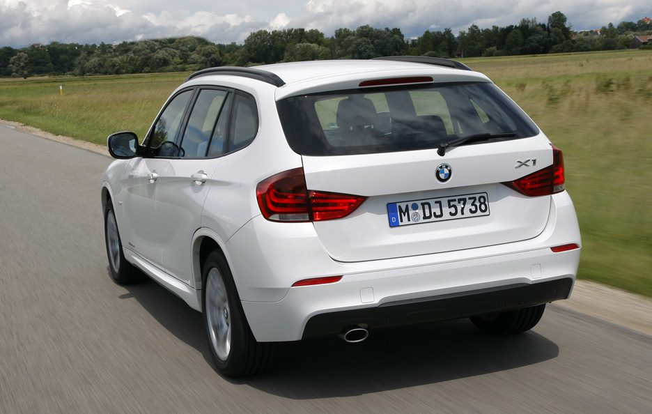BMW X1 - Posteriore in motion