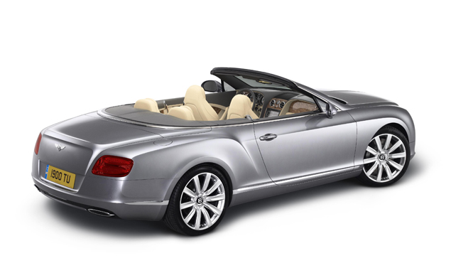Bentley Continental GTC - Stile