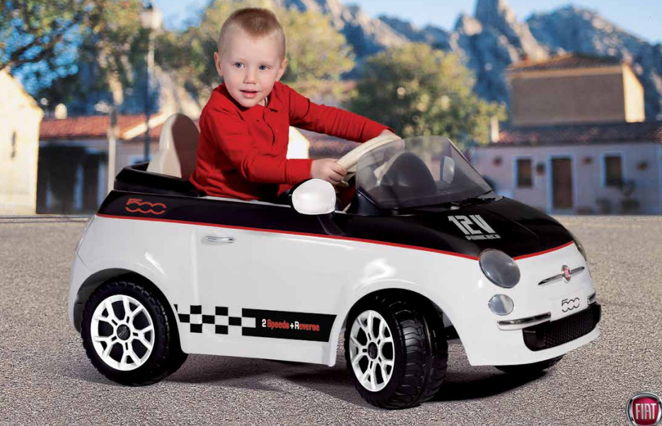 Fiat 500 by Peg Perego