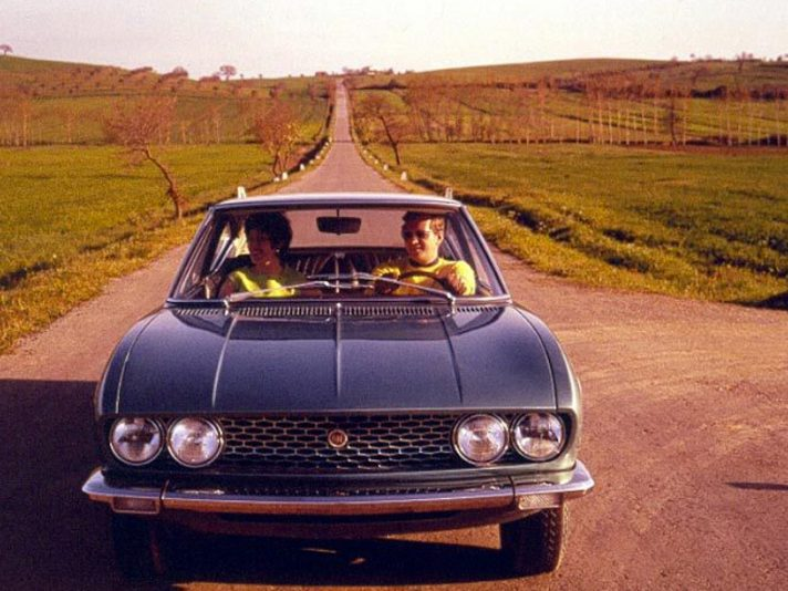 Fiat Dino Coupé frontale