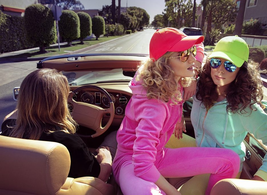 Juicy Couture - Sportive in auto