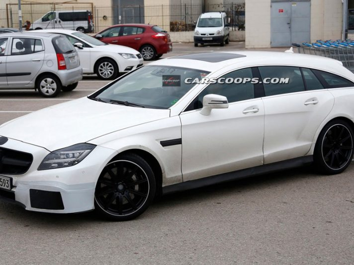 Mercedes CLS AMG Shooting Brake, le foto spia