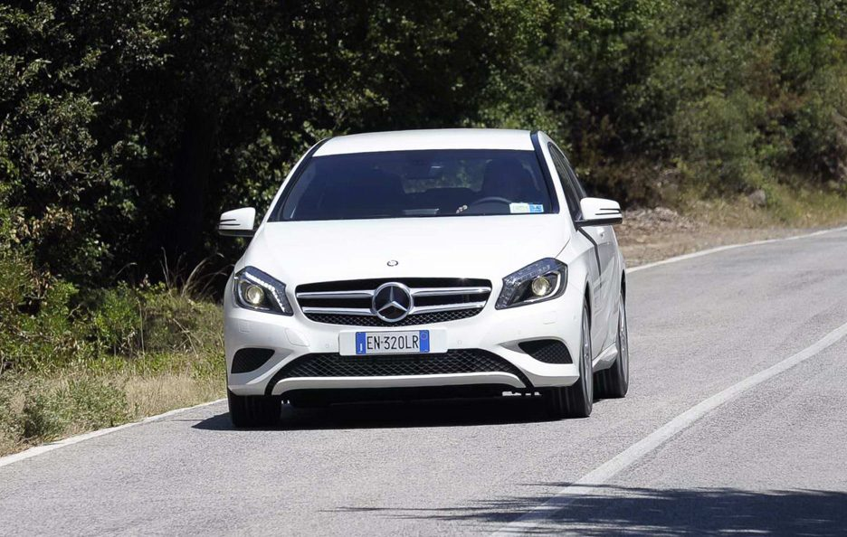 Mercedes classe A frontale