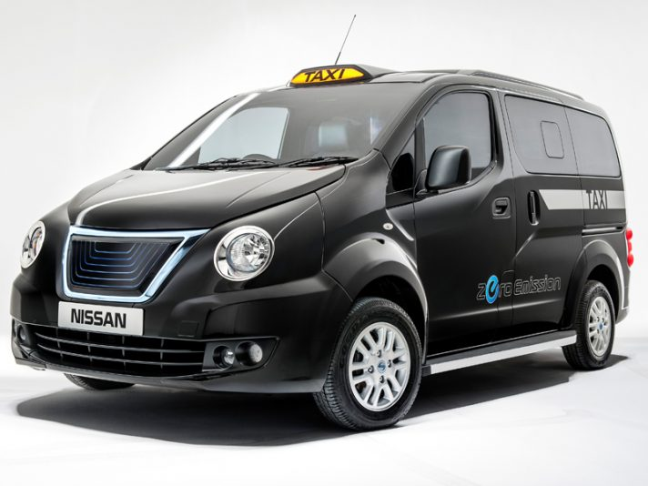 Nissan NV200, il taxi londinese