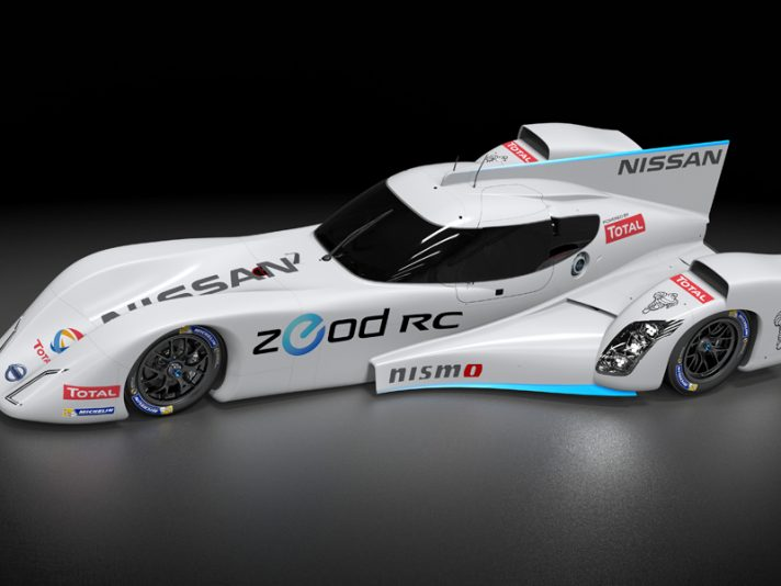 Nissan ZEOD RC, il nuovo motore a benzina