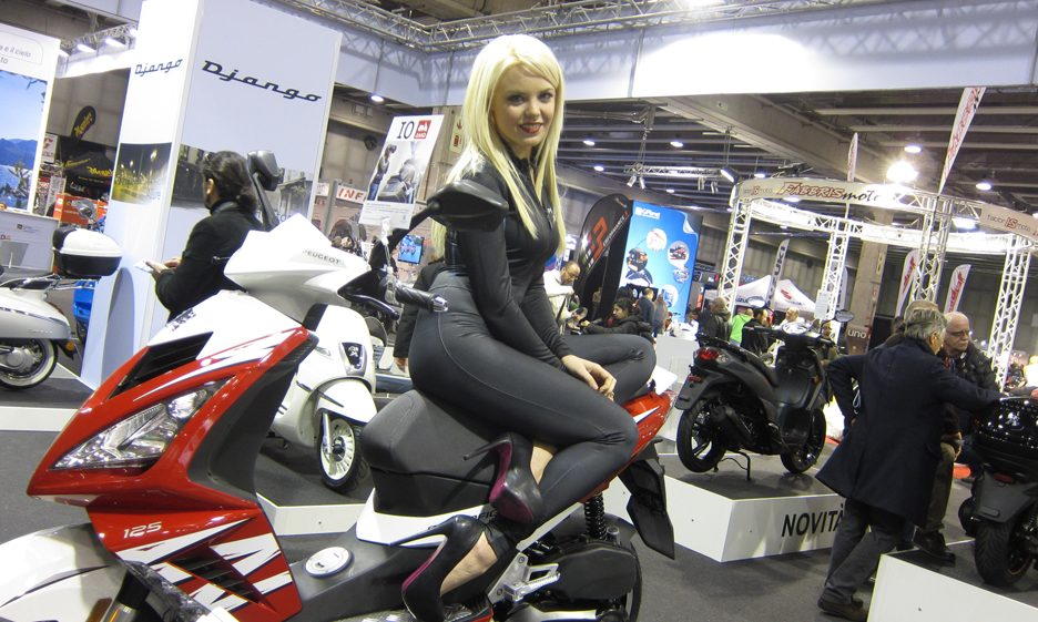 Peugeot Scooters - Motor Bike Expo 2014