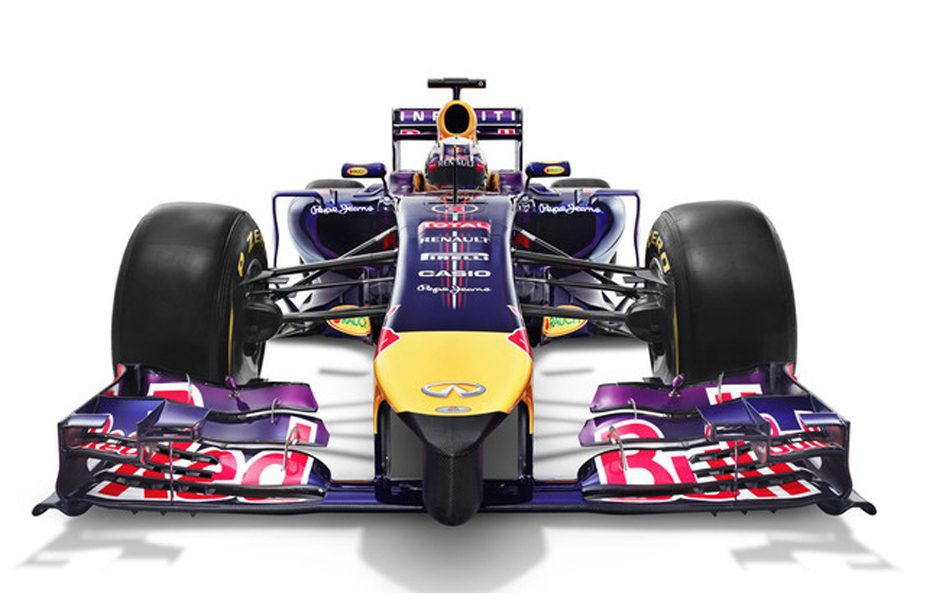 Red Bull RB10 frontale