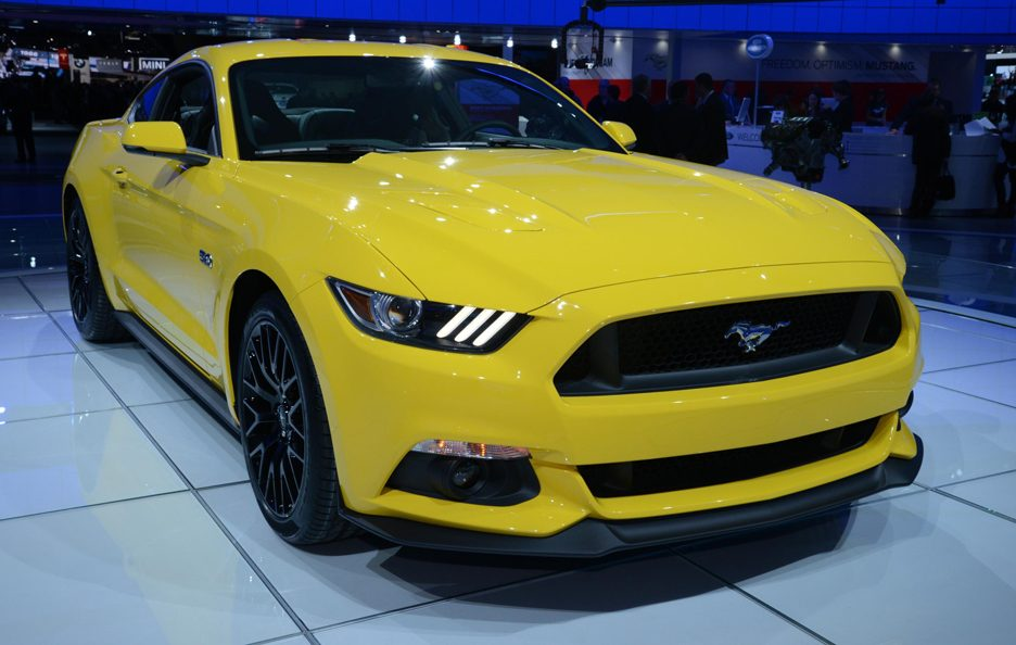 Salone di Detroit 2014 - Ford Mustang GT