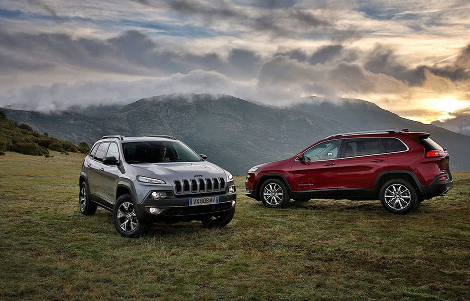 Jeep Cherokee Trailhawk e Limited