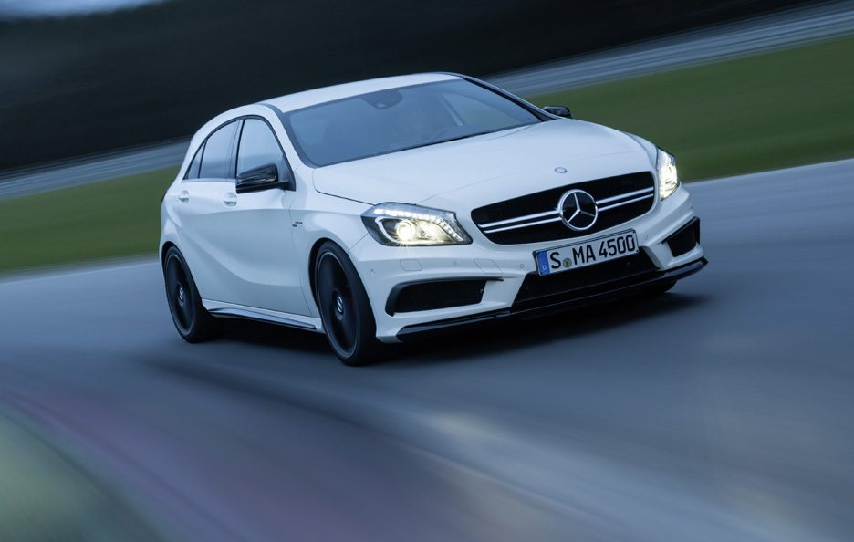 Mercedes A45 AMG - Anteirore in motion