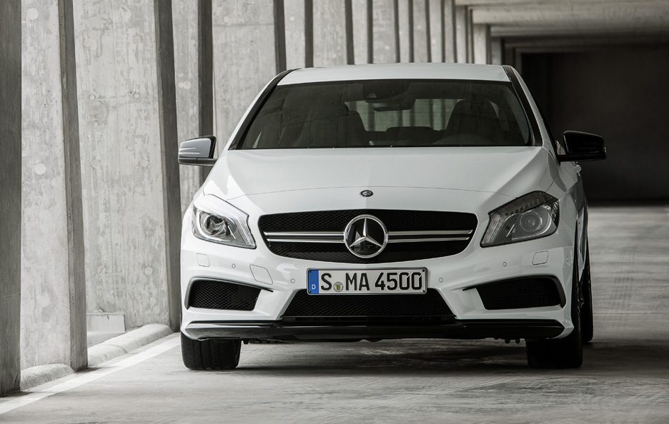 Mercedes A45 AMG - Frontale