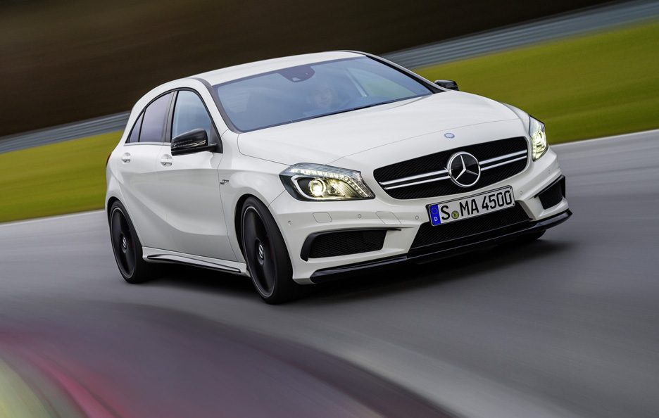 Mercedes A45 AMG - In motion