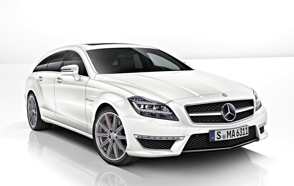 Mercedes CLS AMG Shooting Brake  2013