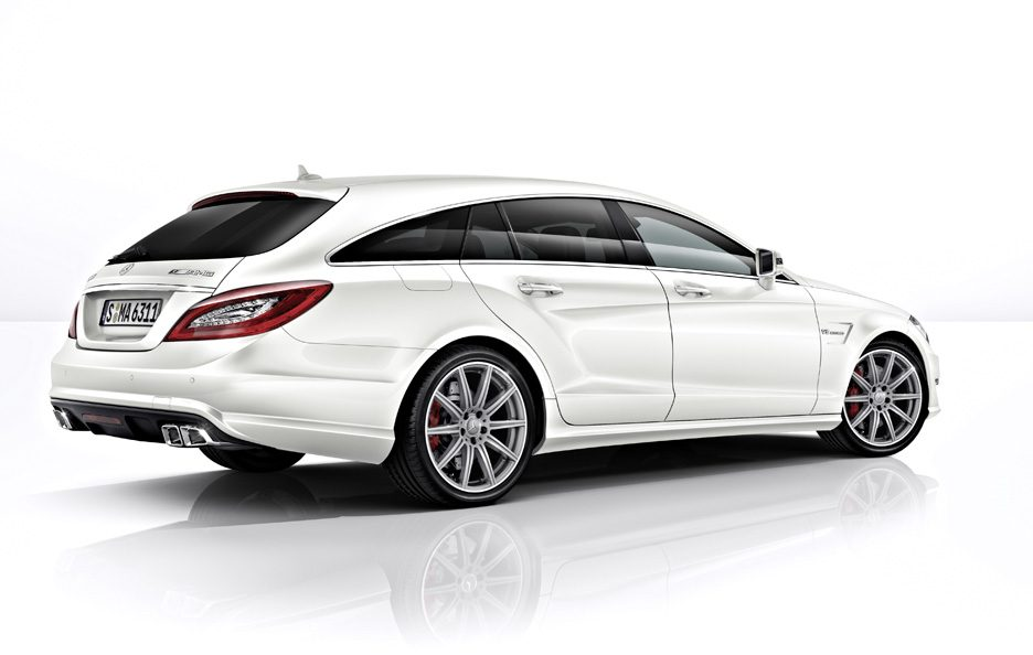 Mercedes CLS AMG Shooting Brake 2013 - Profilo posteriore