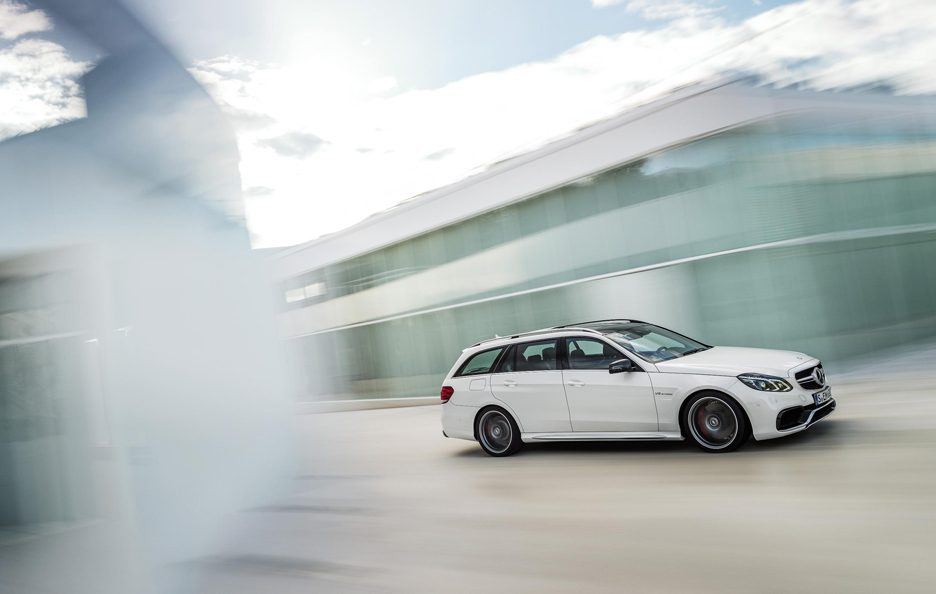 Mercedes Classe E AMG Estate - In motion